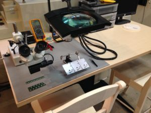 Circuit Board Test and Inspection Station